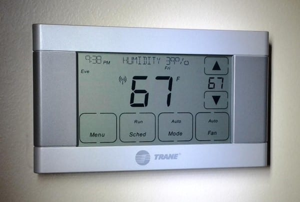 Programmable Thermostats Nero